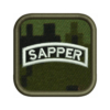 Army Sapper Badge Patch Preview